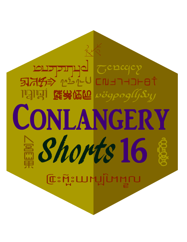 Conlangery Short 16 medallion