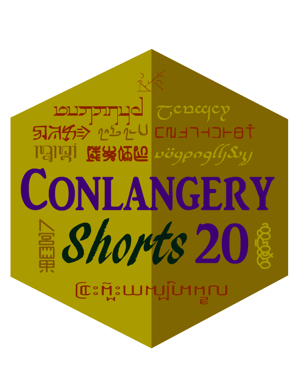 Conlangery Short 20 medallion