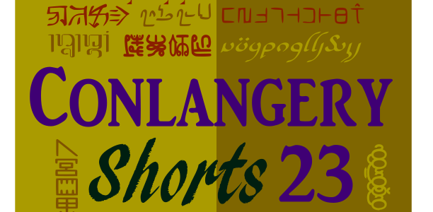 Conlangery Short 23 medallion